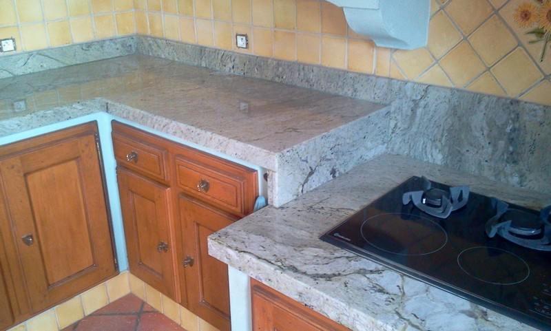 Le marbre et la cuisine - Marbrerie Blachère